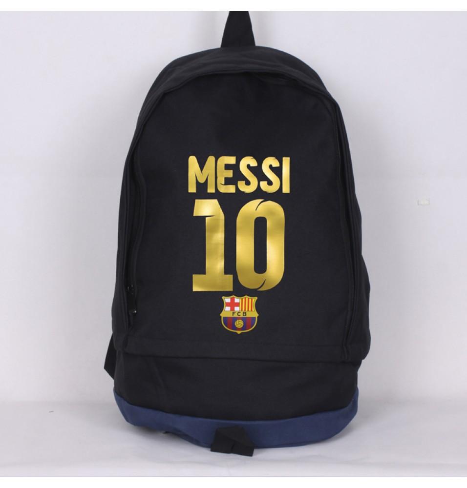 FC Barcelona Messi 10 Backpack Travel Shoulder Bags