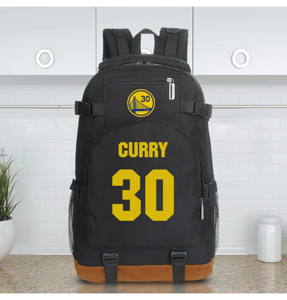 Golden State Warriors Stephen Curry 30 Logo Backpack Shoulder Bag