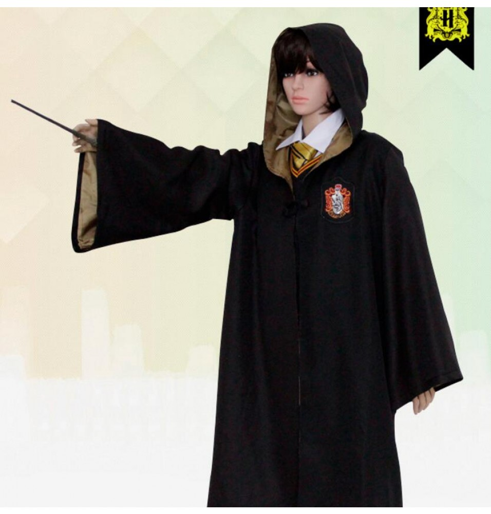 Harry Potter Hufflepuff School Robe - Adult