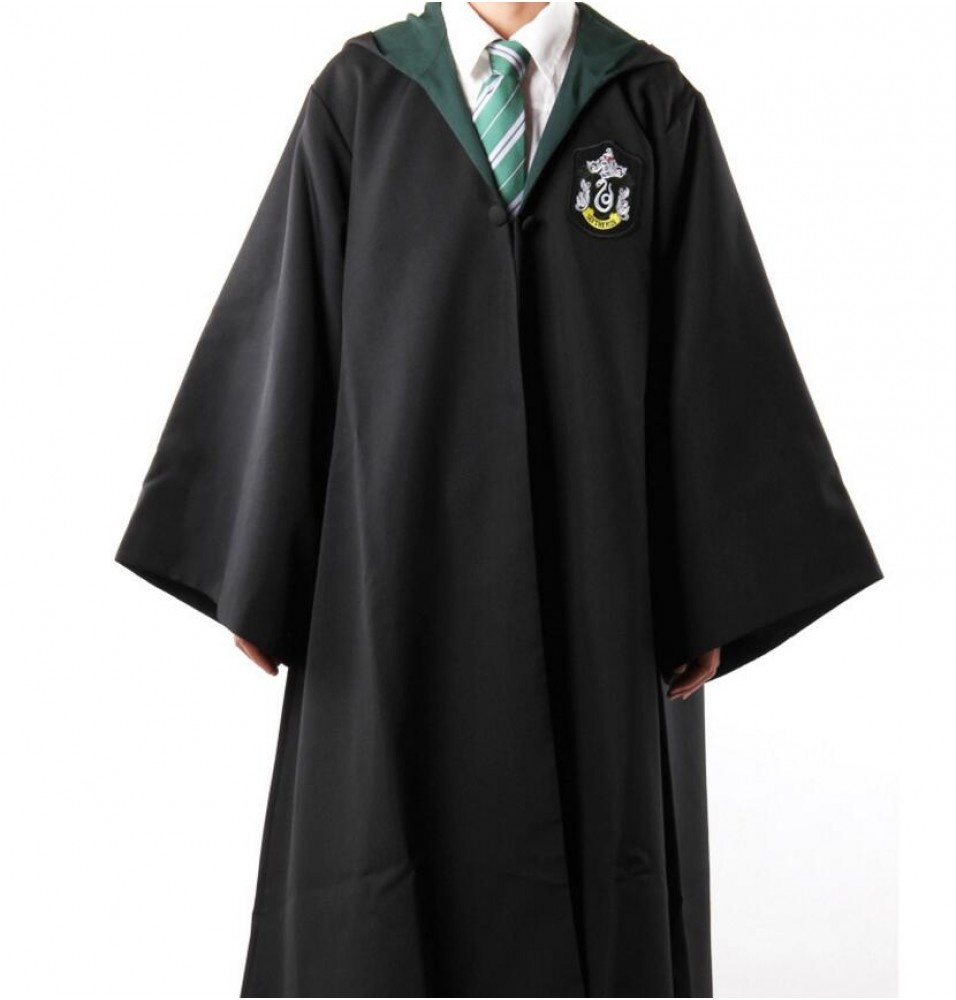 Harry Potter Slytherin School Robe - Adult