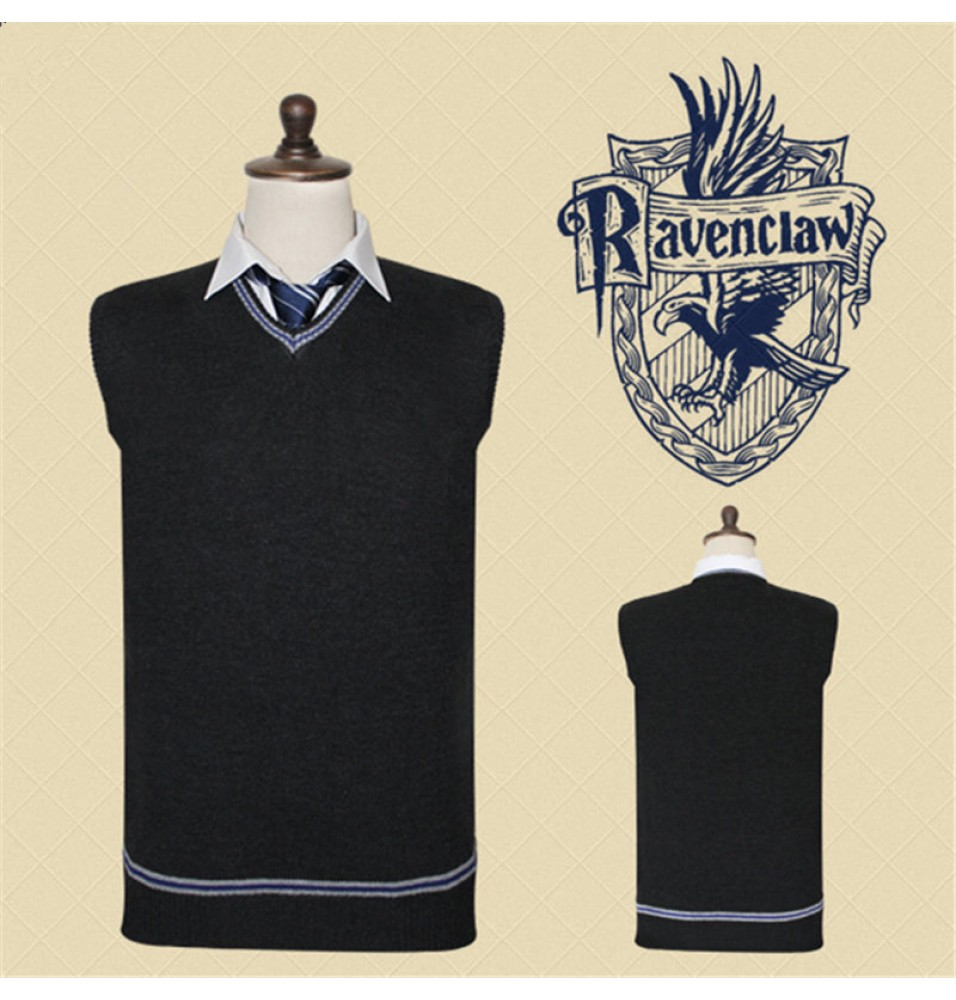 Harry Potter Ravenclaw Vest Sweater School Uniform