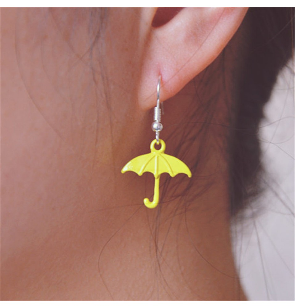 How I Met Your Mother Yellow Umbrella Cosplay Dangle Earrings