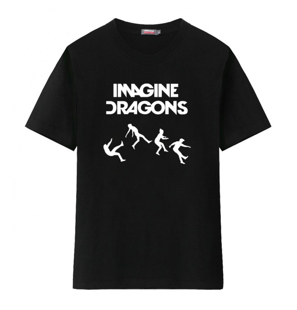 Imagine Dragons Men Rock T-shirt Tee Shirt