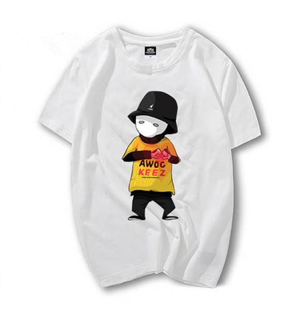 JabbaWockeeZ Cartoon Image Tee Shirt