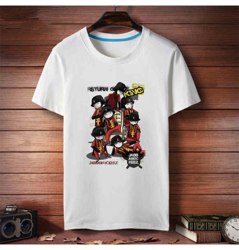 Jabbawockeez HIP-HOP Short Sleeve Tee Shirt