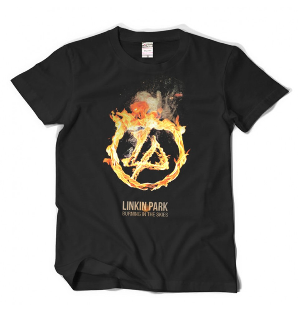 Linkin Park Burning In The Skies Tee Shirt T-shirt