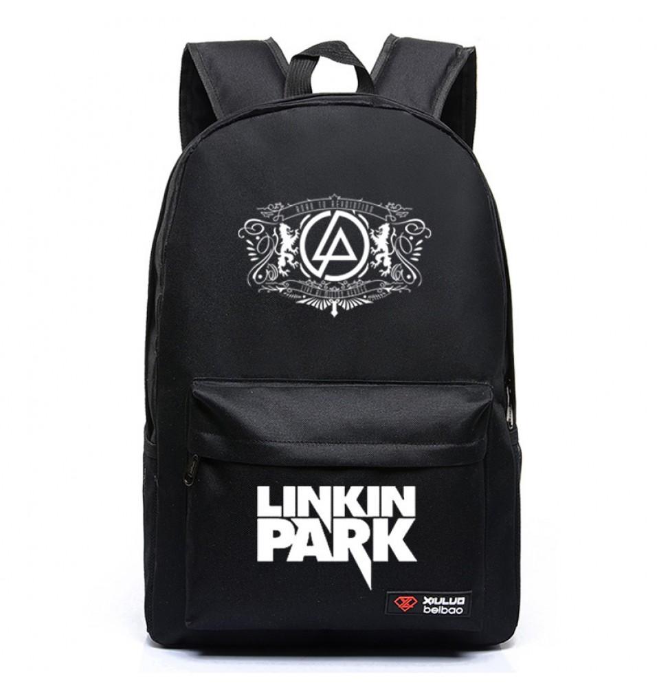 Linkin Park logo Backpack Schoolbag