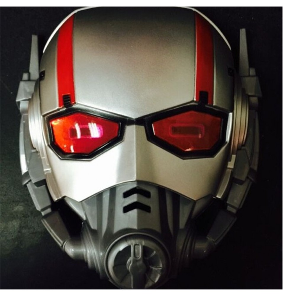 Marvel Superhero Ant Man Kids Children Light Up Cosplay Halloween Mask Helmet