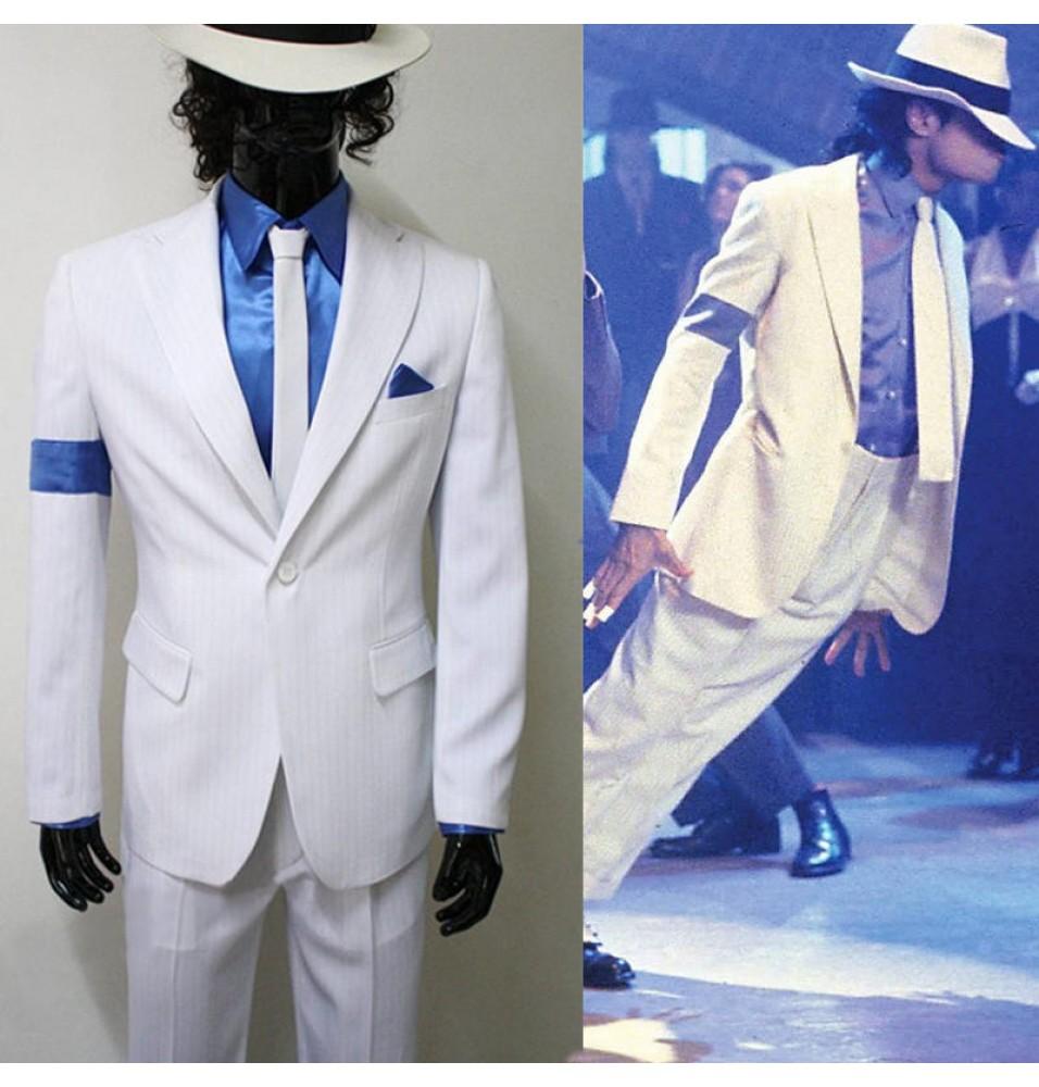 Michael Jackson Smooth Criminal Halloween Uniform Costume Custom Made