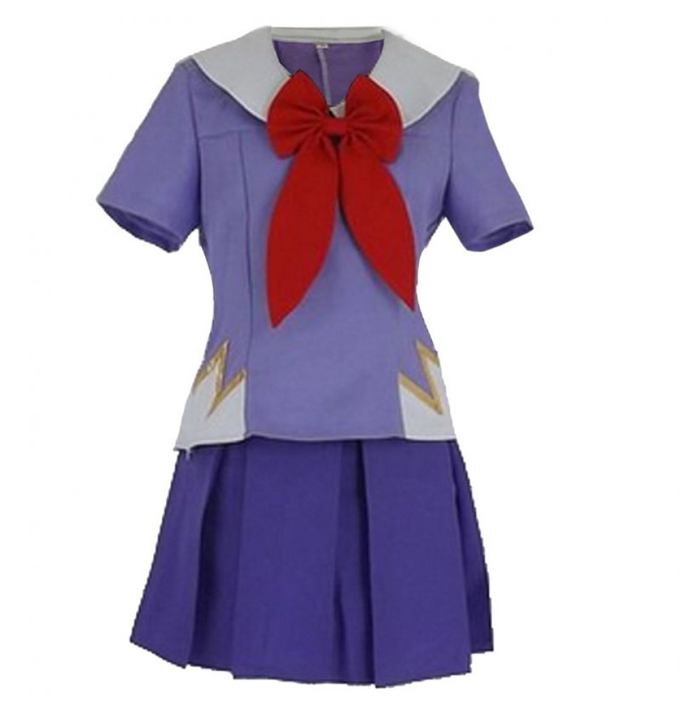 Mirai Nikki The Future Diary Gasai Yuno Cosplay Costume