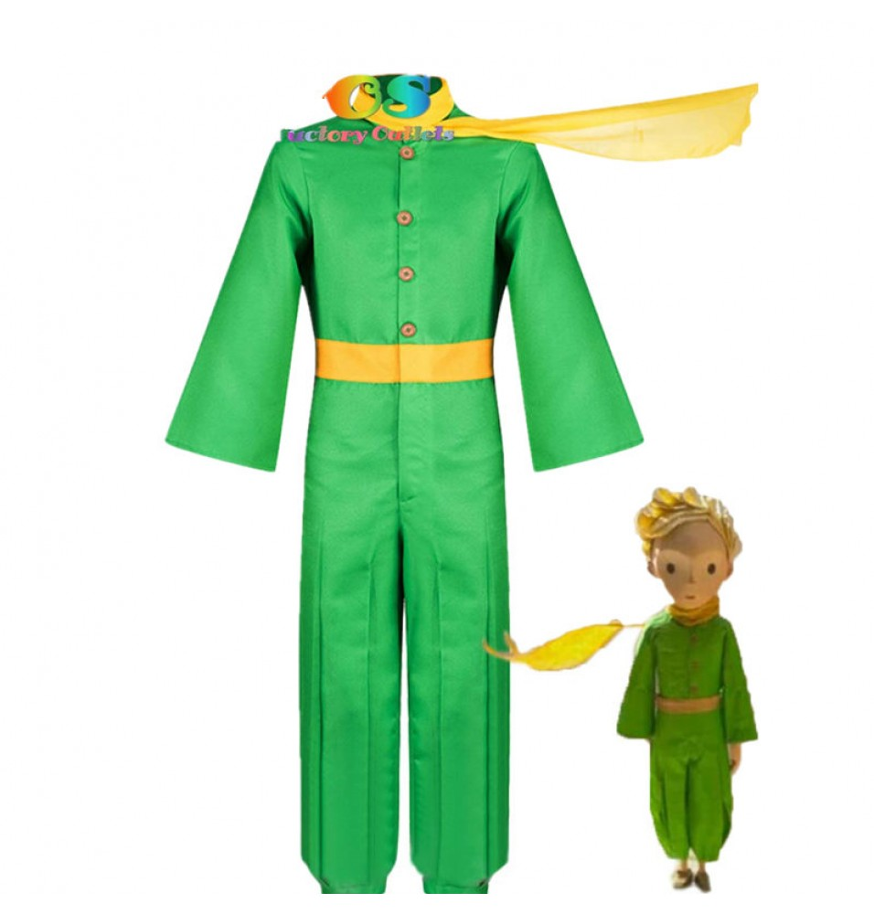 Movie The Little Prince Cosplay Halloween Costume Custom Made