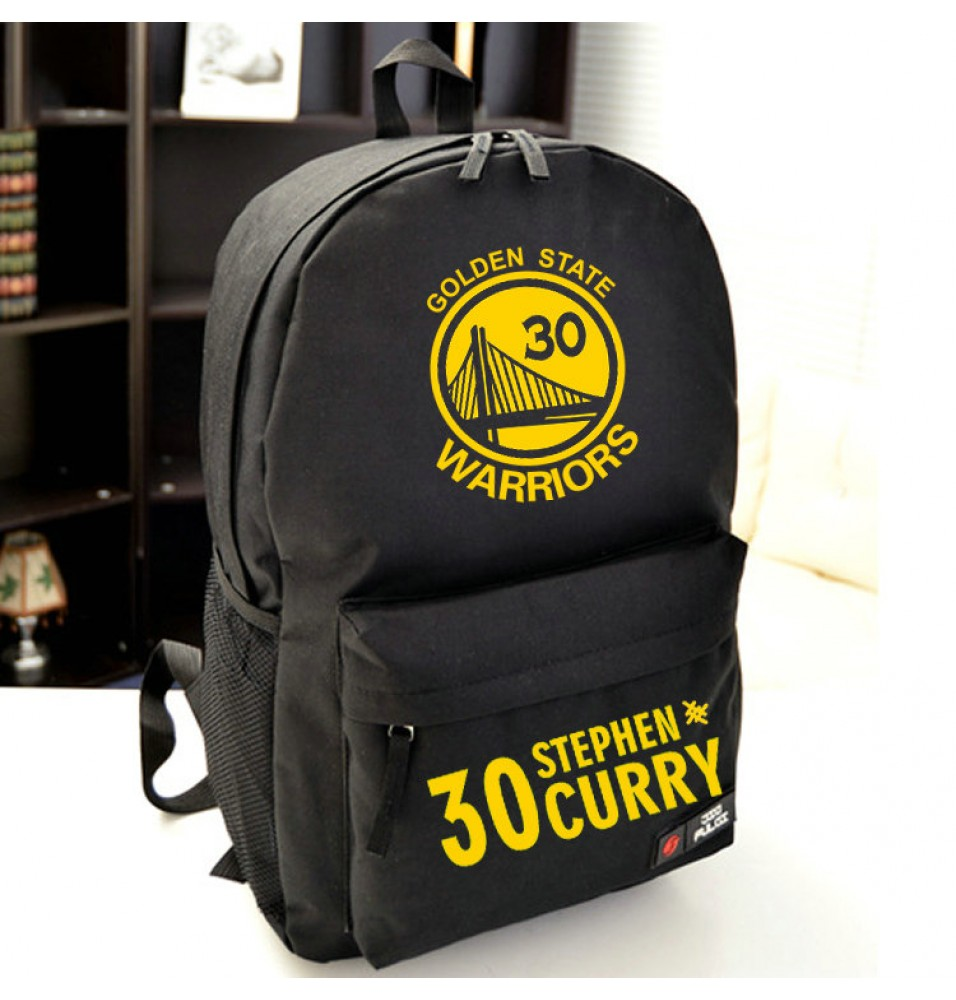 Warriors 30 Stephen Curry Schoolbag Backpack