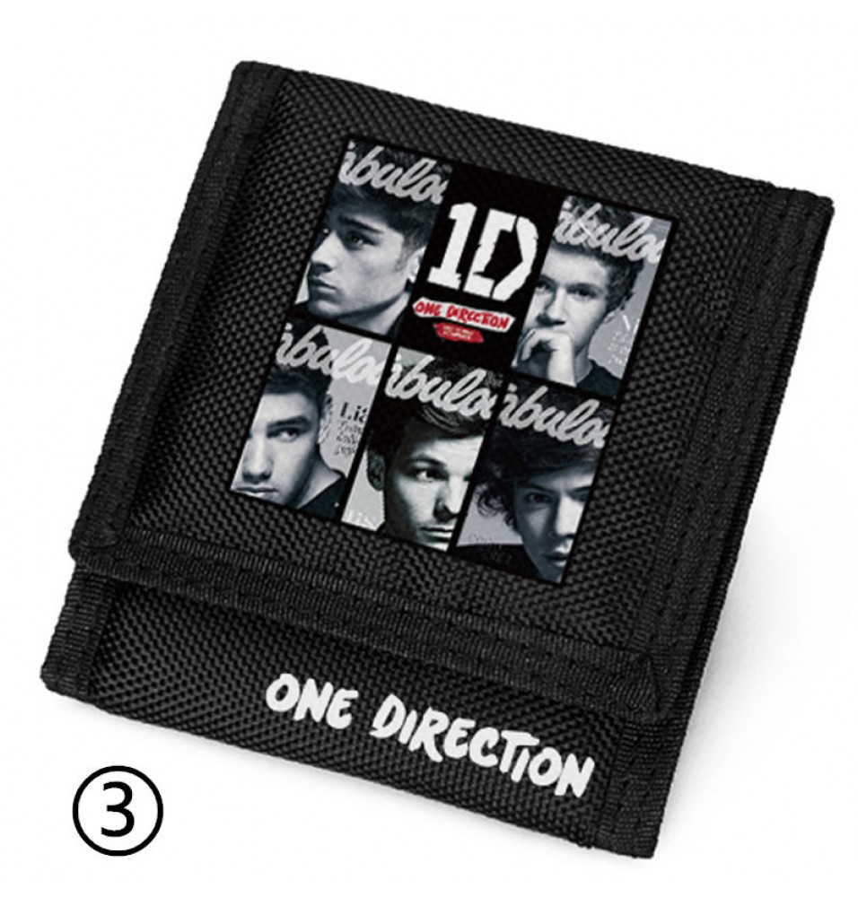 One Direction ID Velcro Wallet