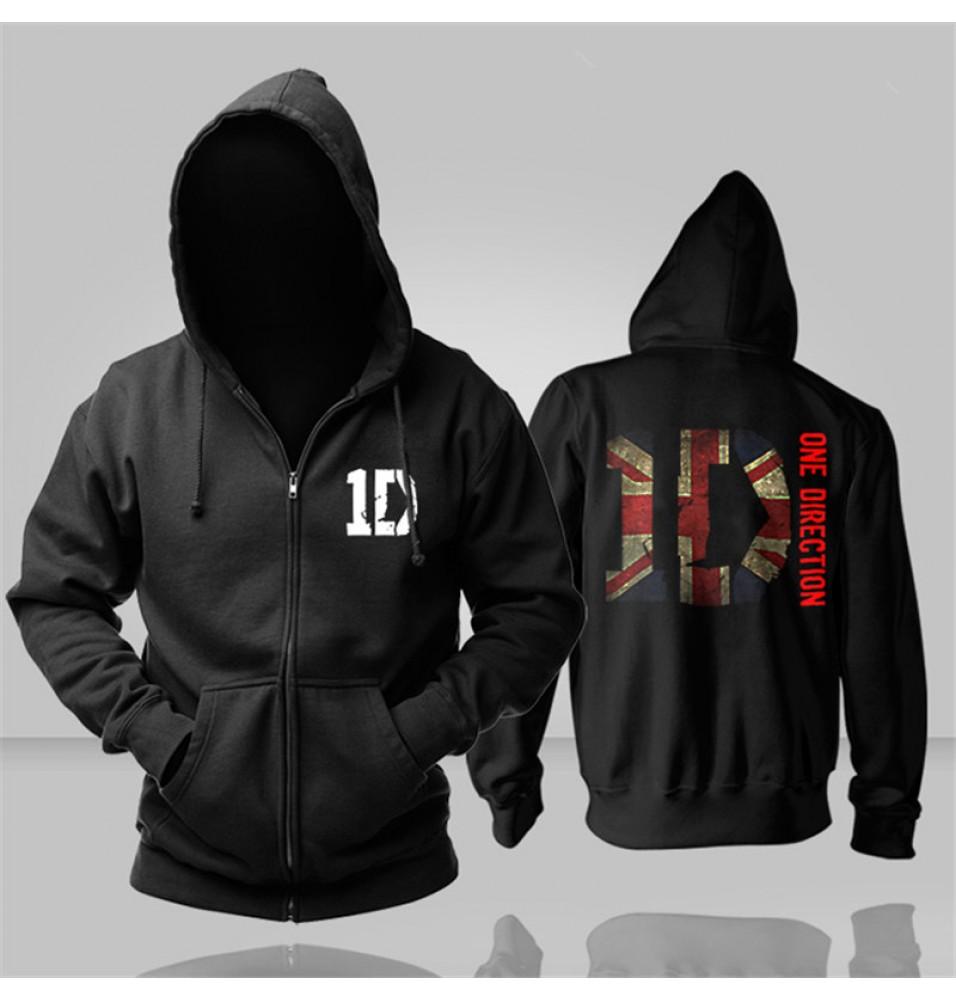 One Direction ID Zipper Hoodies