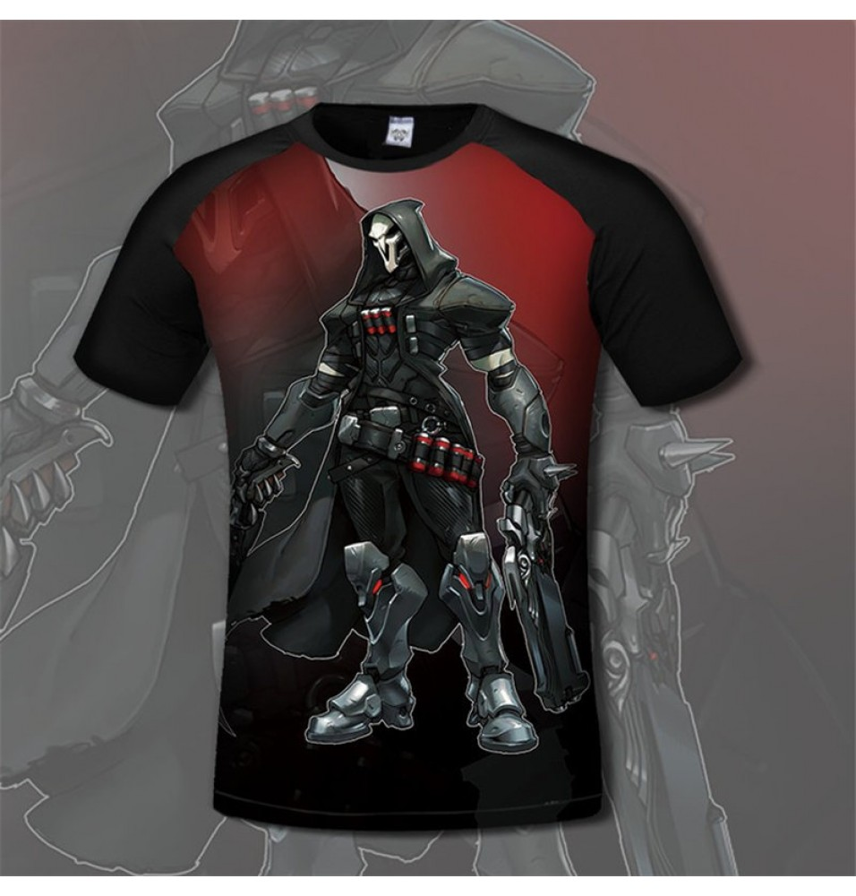 Overwatch Reaper3D Print Men T-Shirts