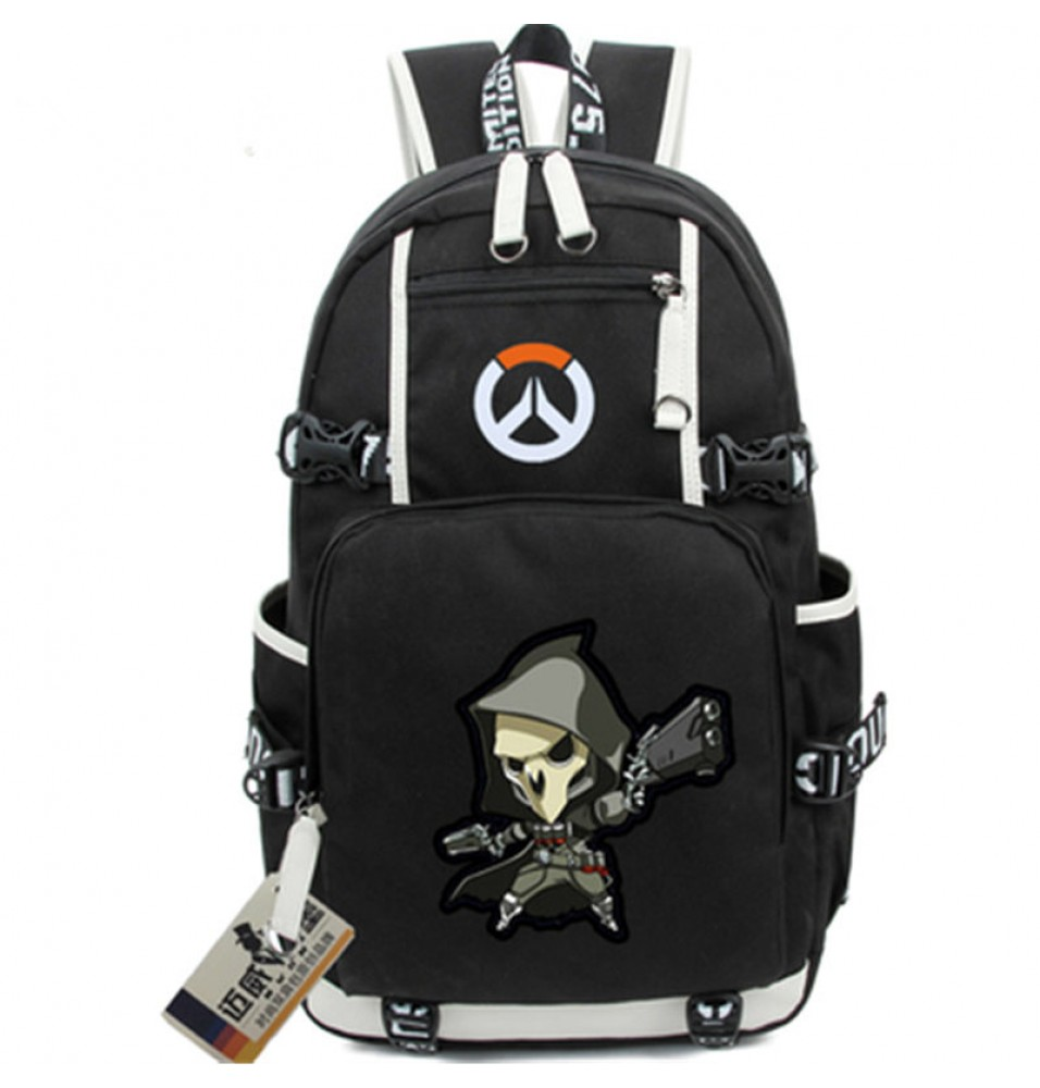 Overwatch Reaper Icon Logo Cartoon Bag Backpack
