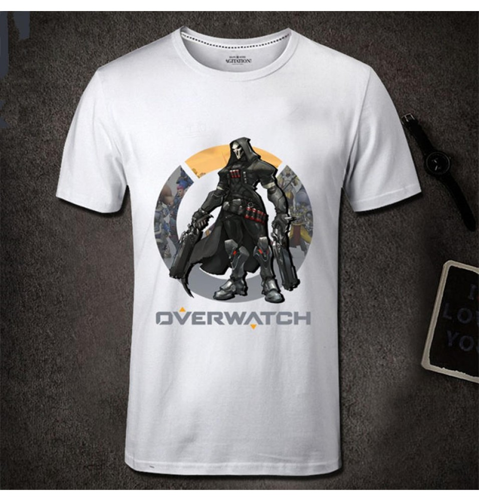 Overwatch ReaperMen Short Sleeve T-shirt