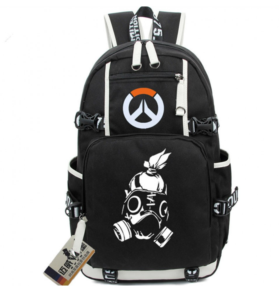 Overwatch Roadhog Icon Logo Bag Backpack