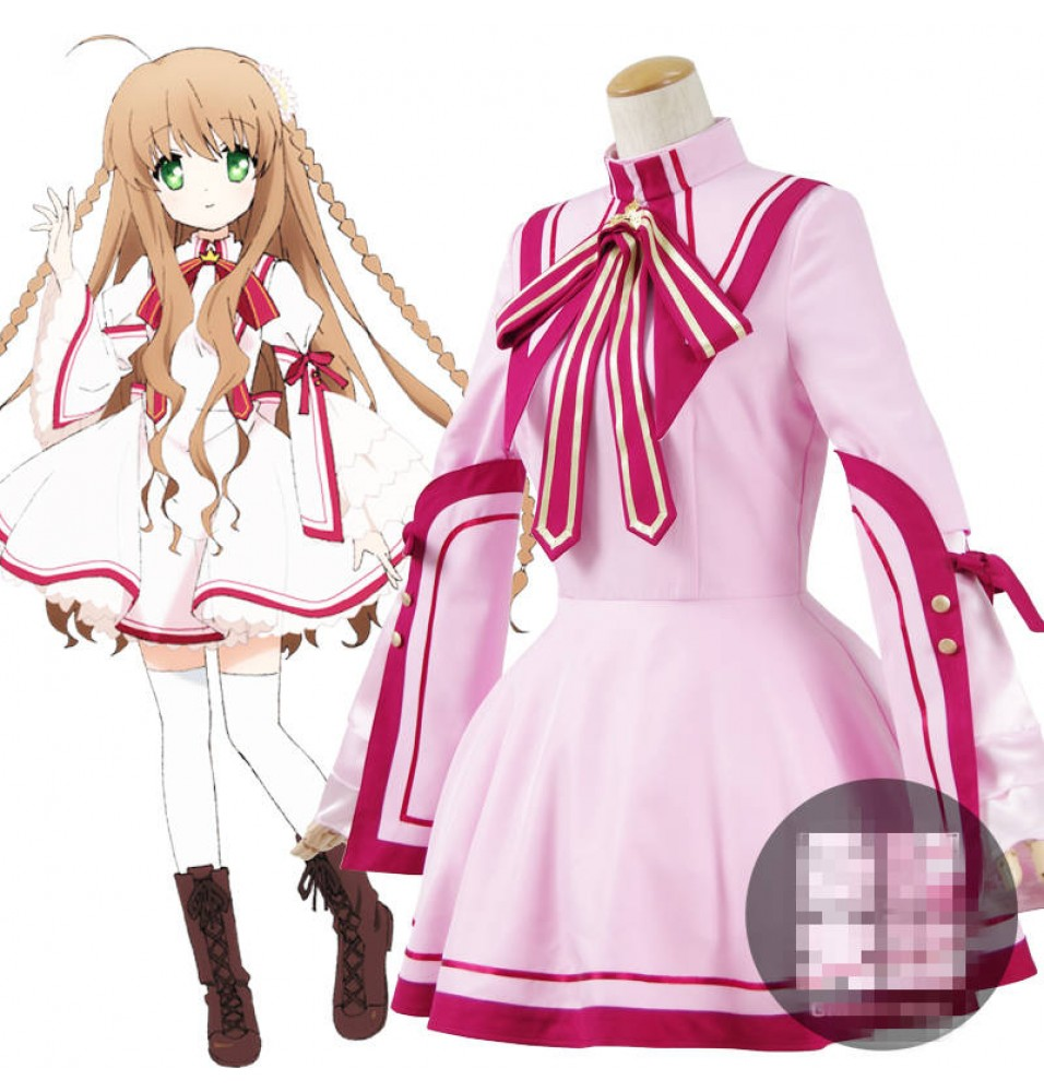 Rewrite Kanbe Kotori Cosplay School Uniform Dress Costume