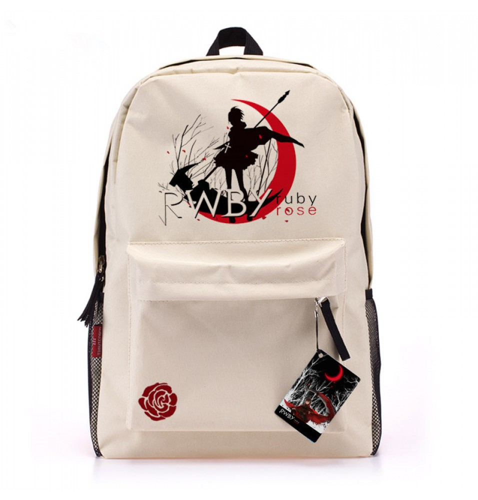 RWBY Red Trailer Ruby Rose Backpack School Bag