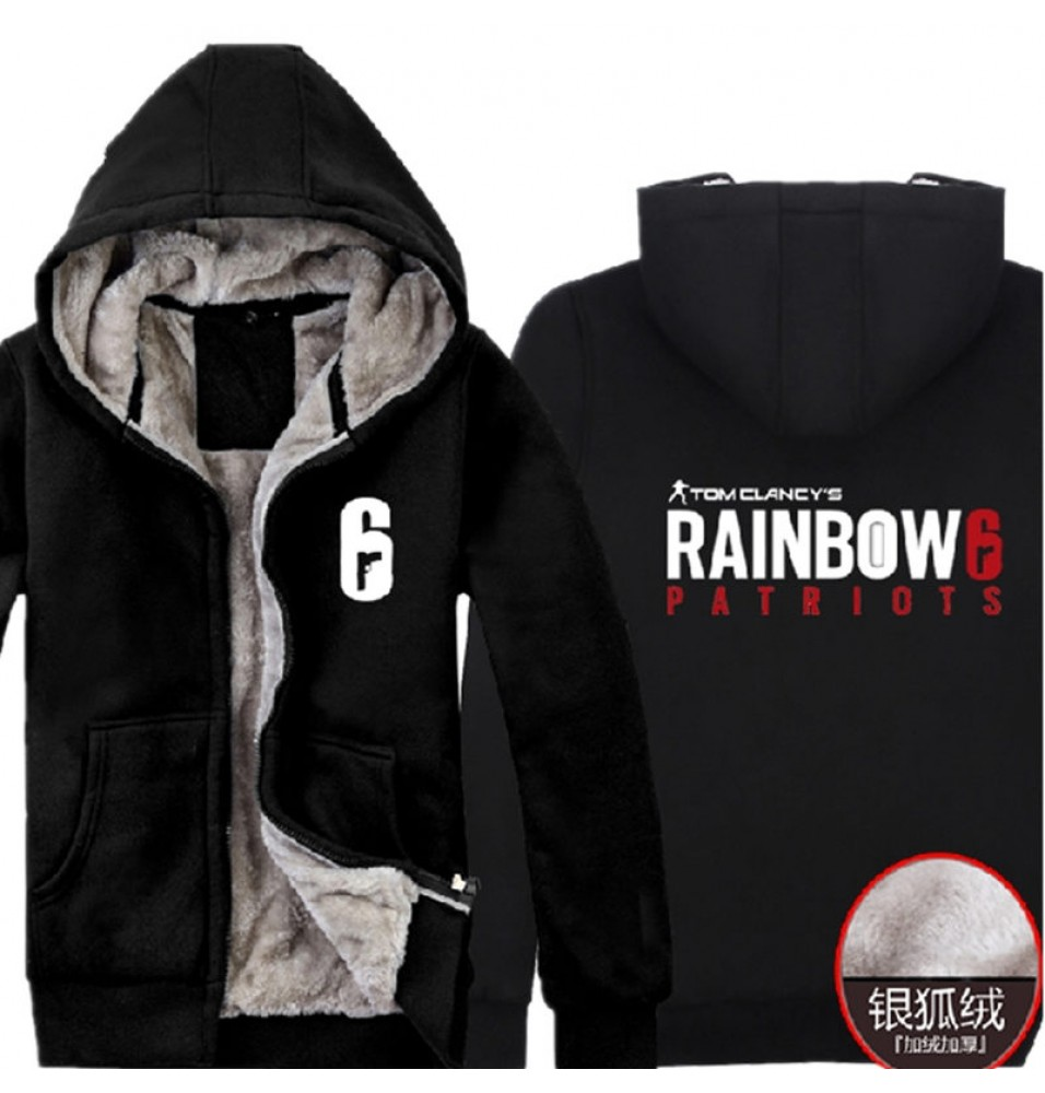 timecosplay Tom Clancy's Rainbow Six Siege Zipper Hoodies Sweatshirts