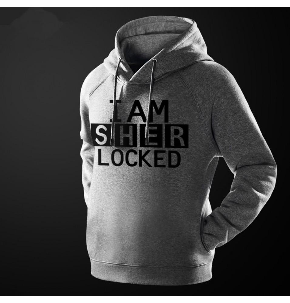 Sherlock Holmes I am Sherlocked Hoodie