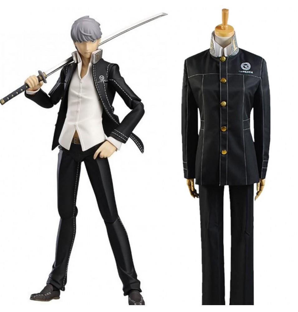 Shin Megami Tensei: Persona 4 Yu Narukami Cosplay School Uniform Costumes