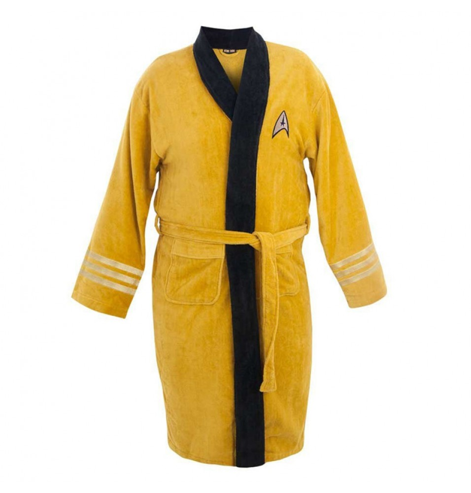 Star Trek Captain Kirk Cotton Long Bathrobe