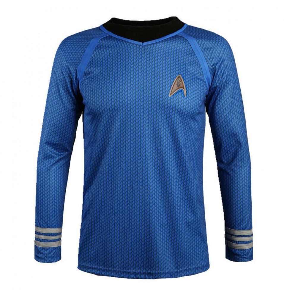 Star Trek Into Darkness Spock Uniform Cosplay Costumes