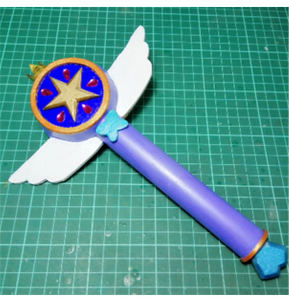 Star vs. the Forces of Evil Princess Star Butterfly Magic Wand Cosplay Prop