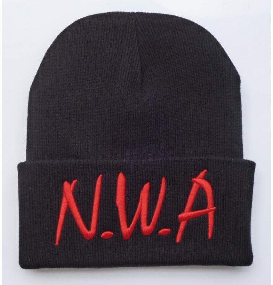 Timecosplay Straight Outta Compton NWA Logo Wool Cap