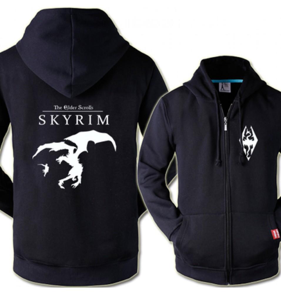 The Elder Scrolls V: Skyrim Cool Zipper Hoodies
