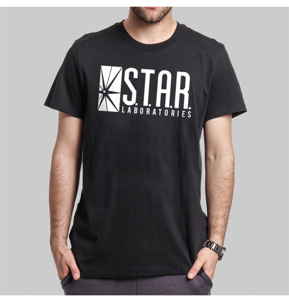 The Flash Star Labs Logo Tee Shirt T-Shirt