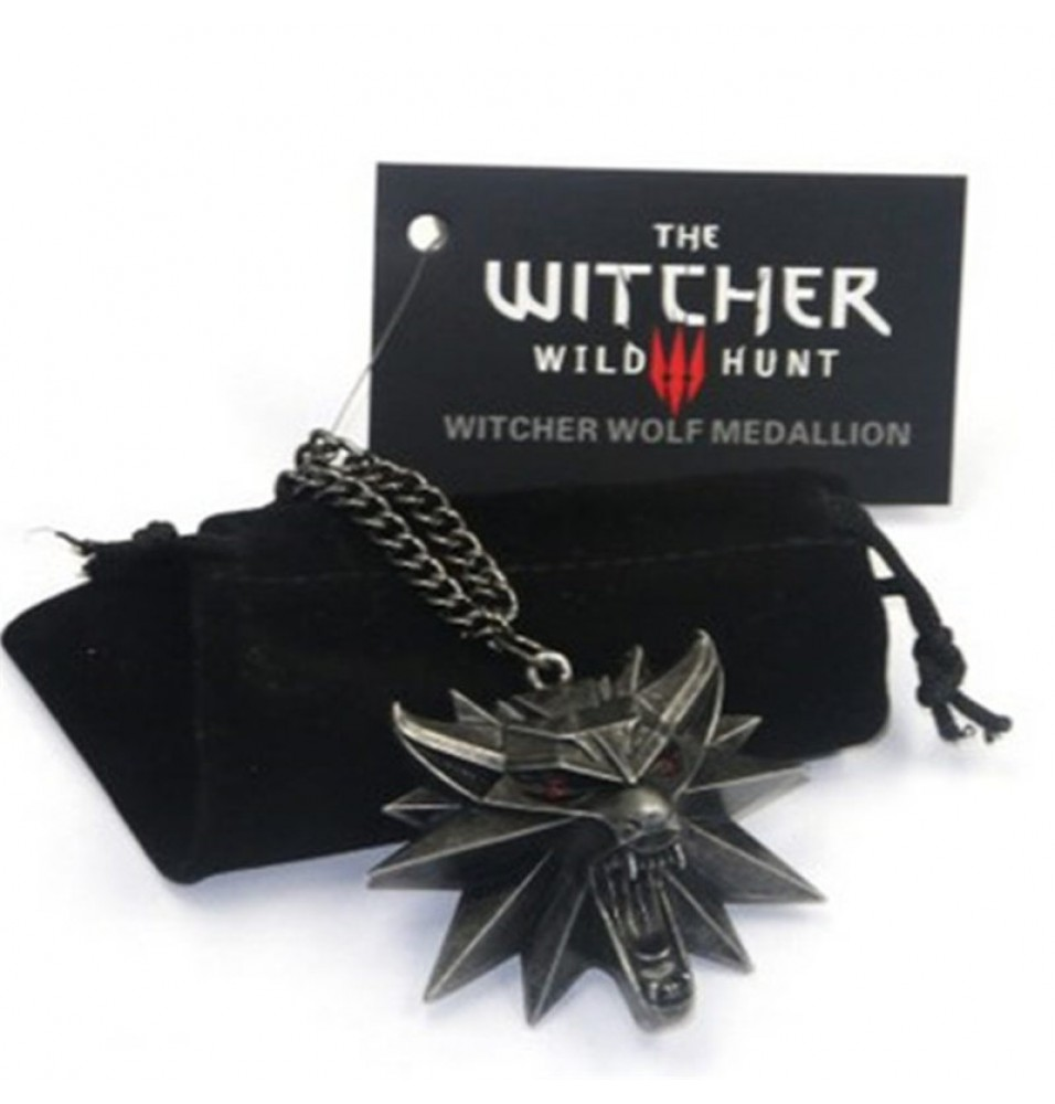The Witcher 3 Wild Hunt Icon Necklace