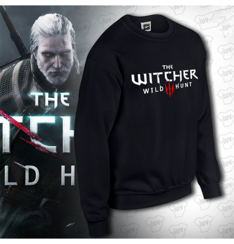 The Witcher 3 Wild Hunt Logo Pullover Hoodies
