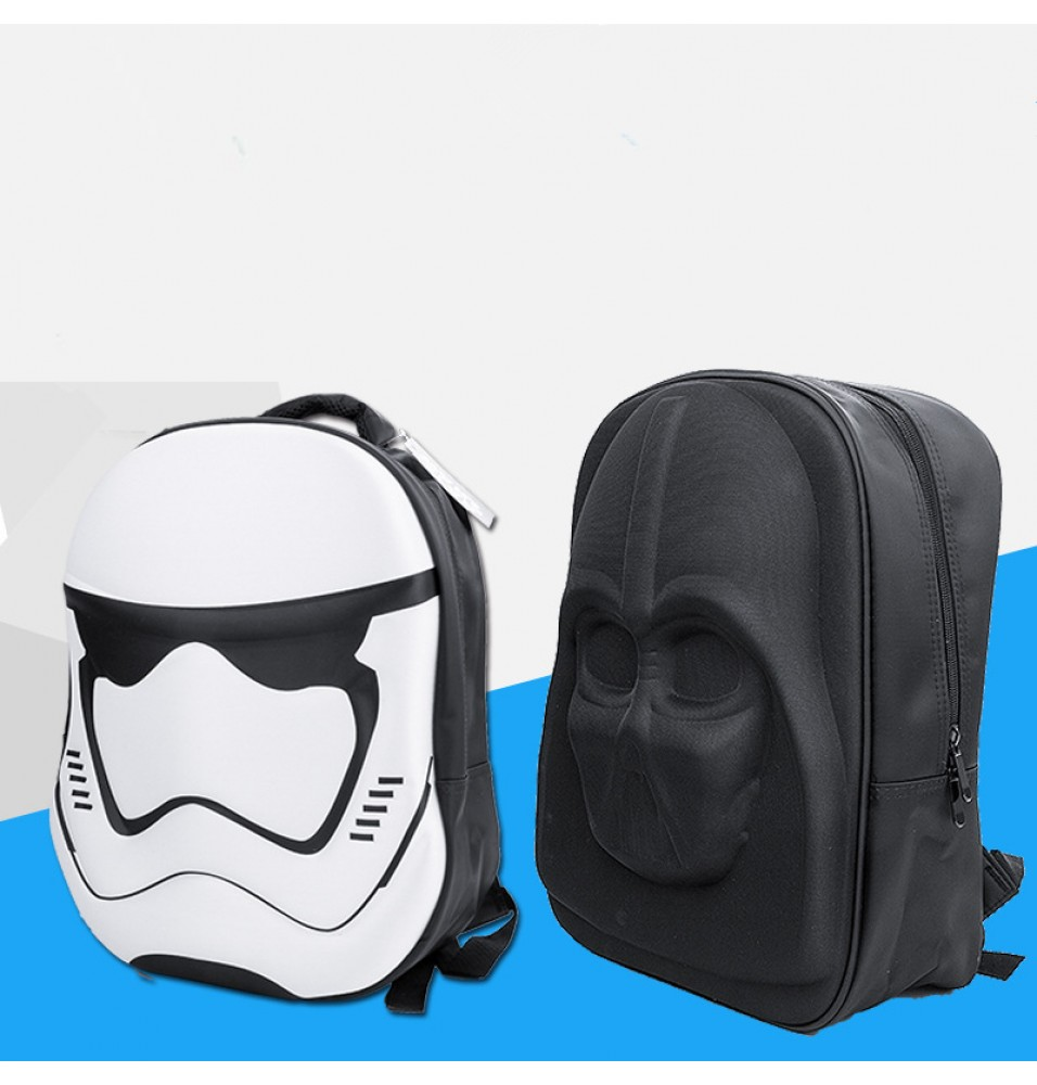 Timecosplay Star Wars 3D Stormtrooper School Bag Backpack