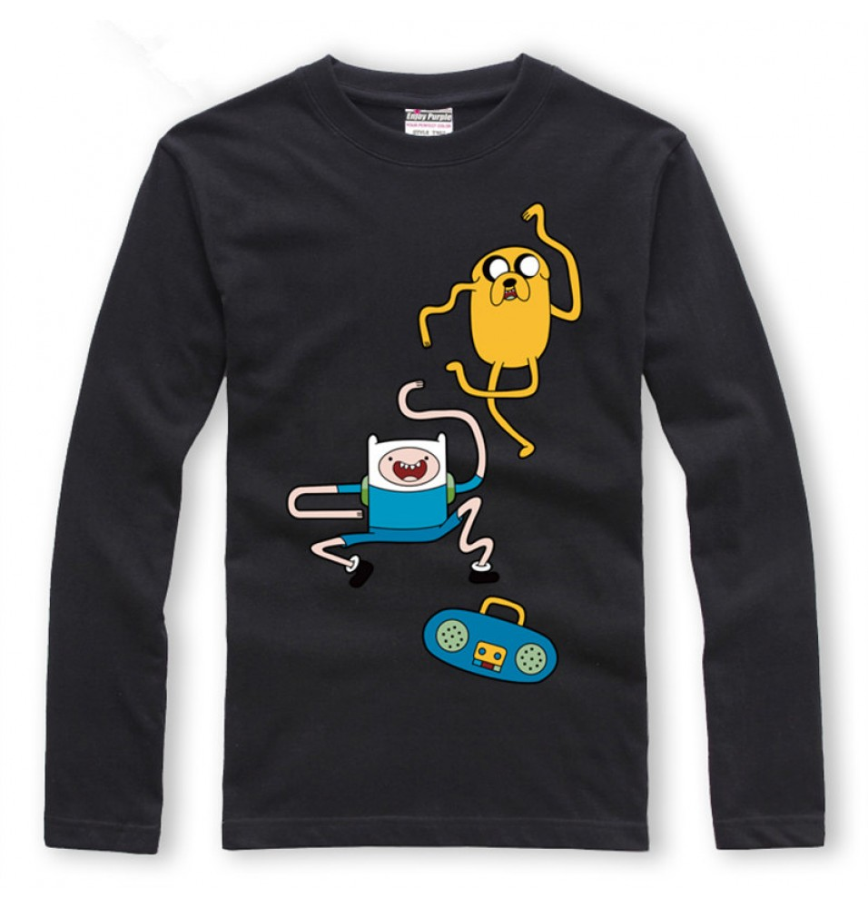 Timecosplay Adventure Time Long Sleeve Tee Shirts