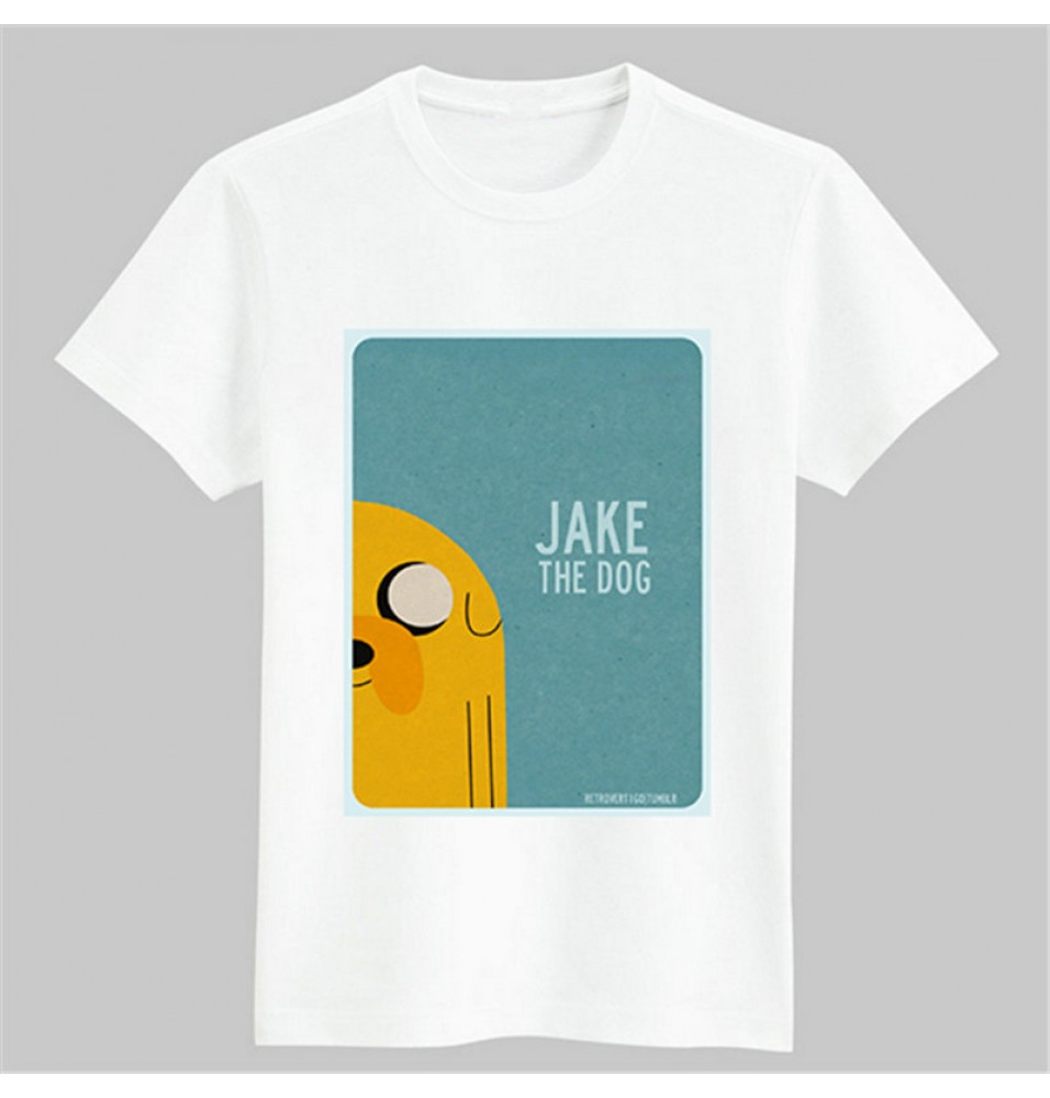 Timecosplay Adventure Time Jake Tee Shirts