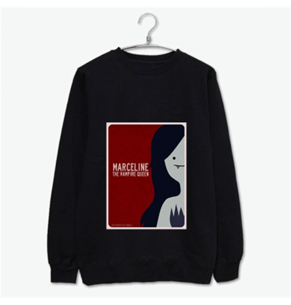 Timecosplay Adventure Time Marceline the Vampire Queen Long Sleeve Shirts Hoodies