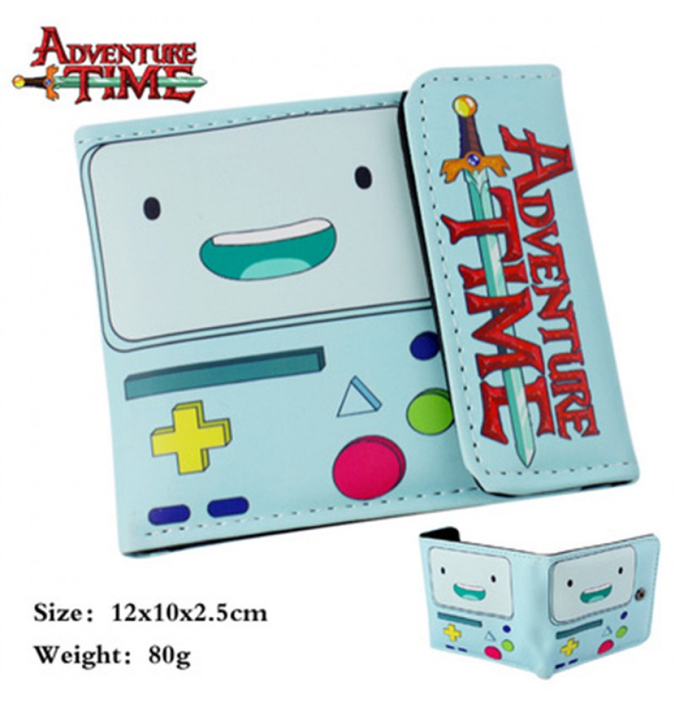 Timecosplay Adventure Time With Finn And Jake BMO Wallet
