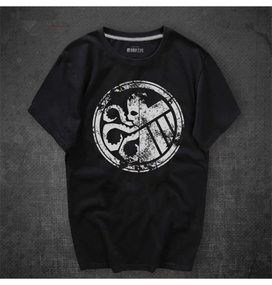 Timecosplay Agents of S.H.I.E.L.D. Hydra Agents Logo Cosplay Tee Shirt