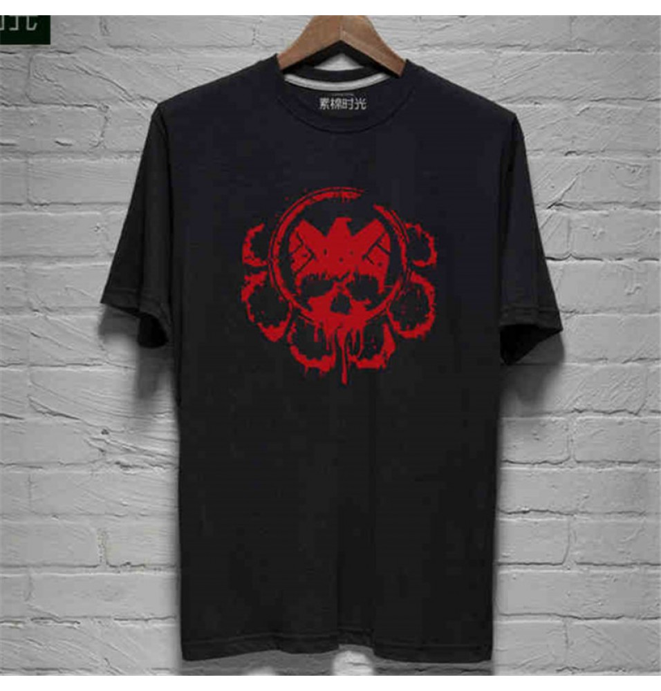 Timecosplay Agents of S.H.I.E.L.D.Hydra Agents Logo Tee Shirt