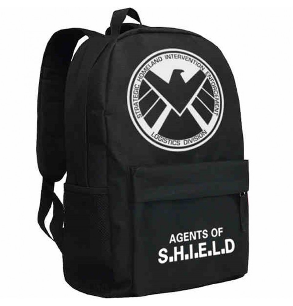 Timecosplay Agents of S.H.I.E.L.D.Logo Backpack Schoolbag
