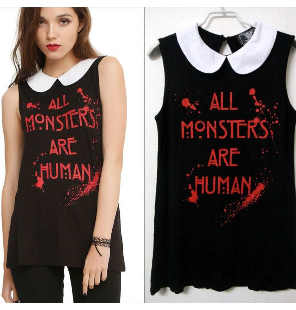 Timecosplay American Horror Story All Monsters Are Hman DressTee Shirts