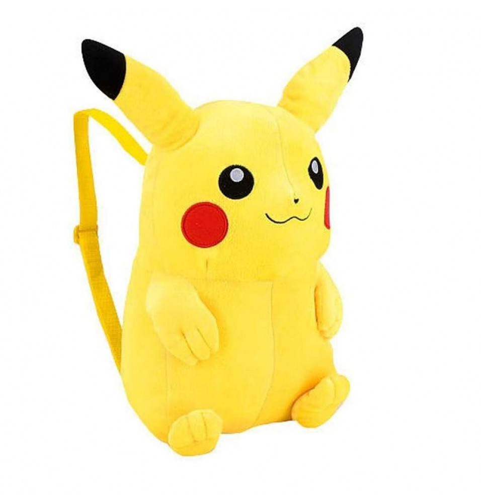 Timecosplay Anime Pokemon Pikachu Cosplay Bag Plush Backpack