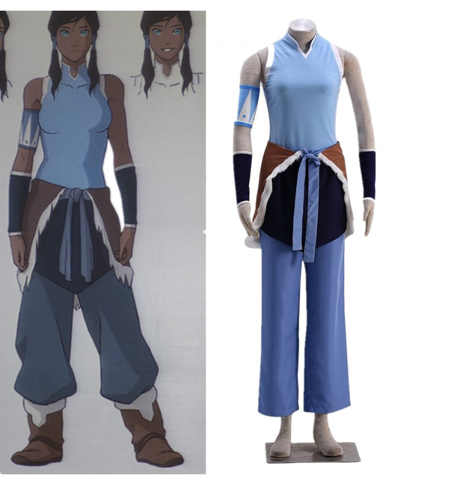 Timecosplay Avatar The Legend of Korra Cosplay Korra Cosplay Costume
