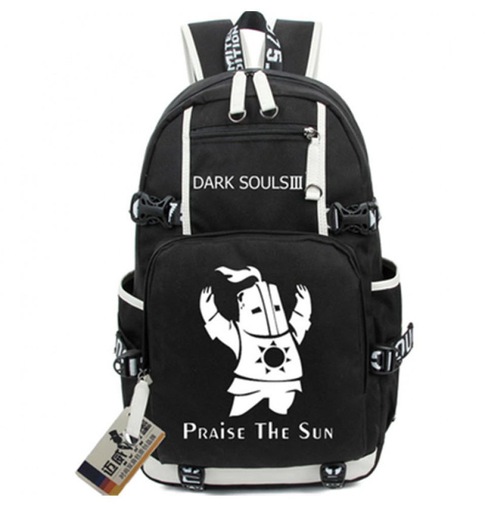 Timecosplay Dark Souls 3 Backpack Praise The Sun Shoulders Bag Schoolbag