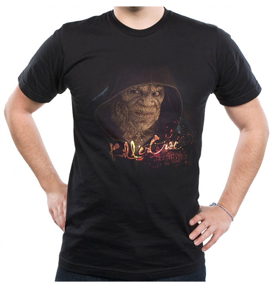 Timecosplay DC Suicide Squad Batman Killer Croc Tee Shirts