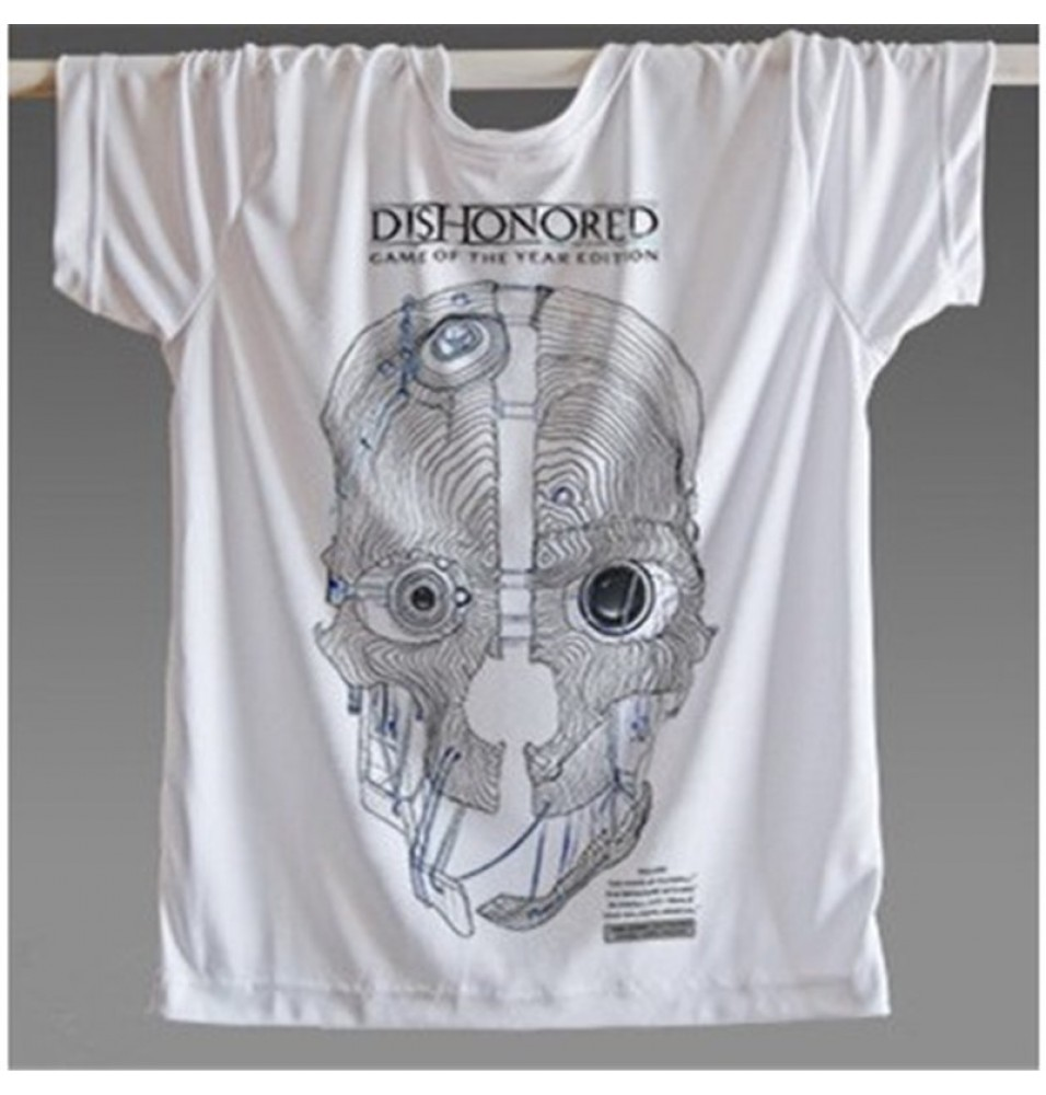 Timecosplay Dishonored Logo 3D Print Harajuku Tee Shirts