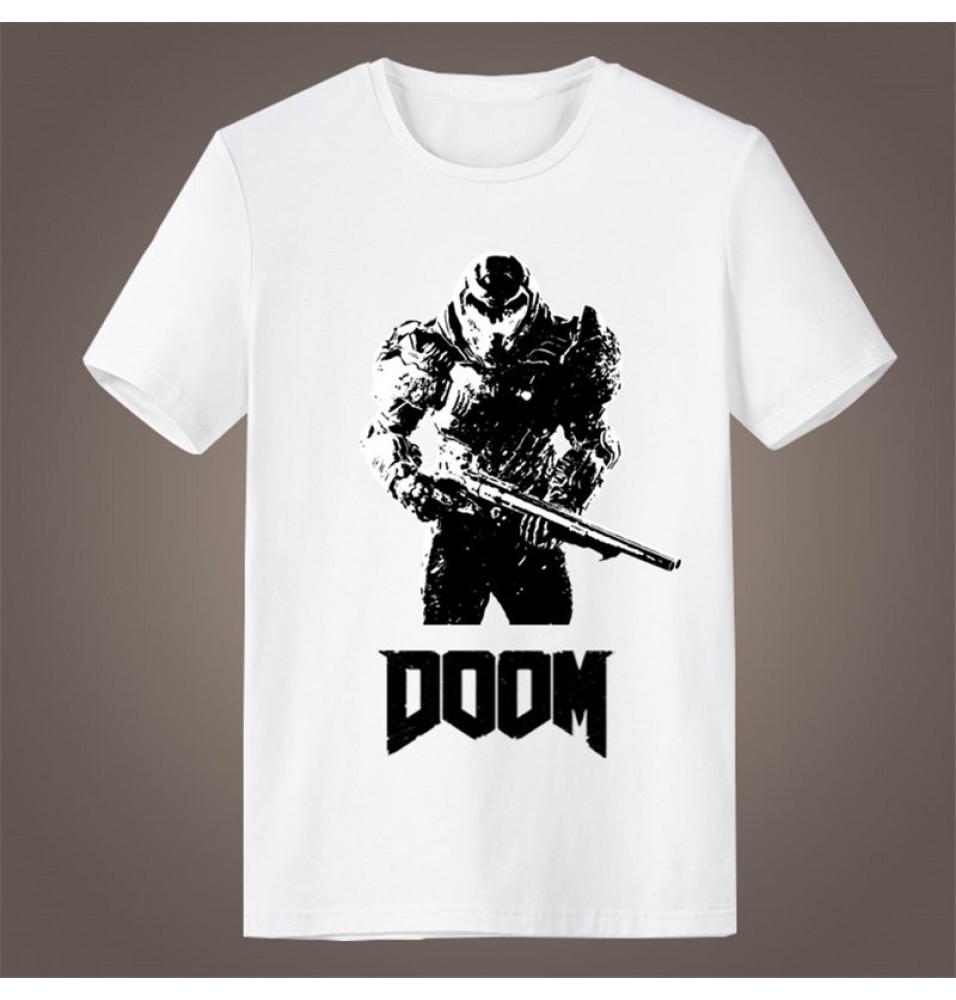 Timecosplay Doom Icon Short Sleeve T-Shirts